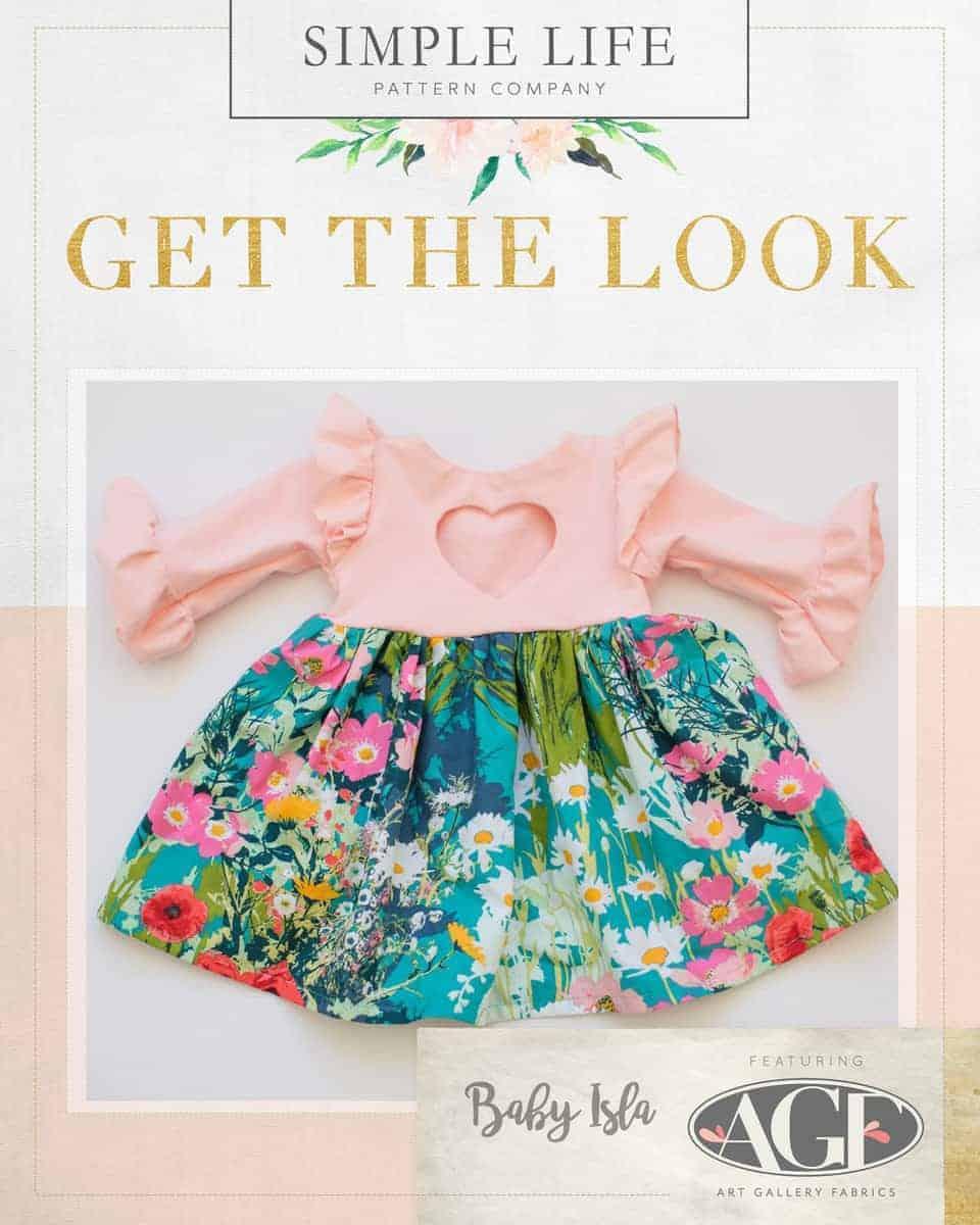 GET THE LOOK - BABY Isla's Infinity Tunic & Dress. NB- 24 months. Lavish