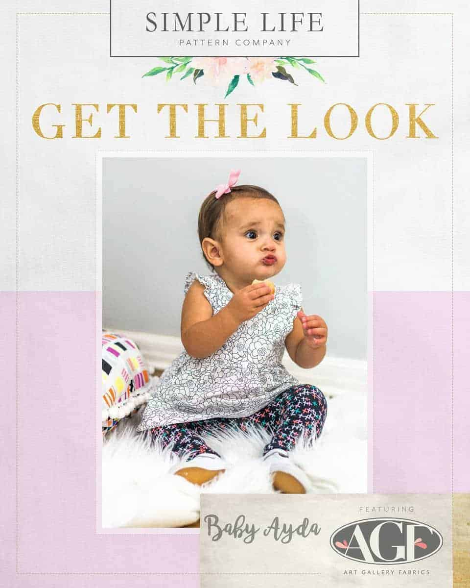 GET THE LOOK - Baby Ayda's Top & Dress. Here come the fun