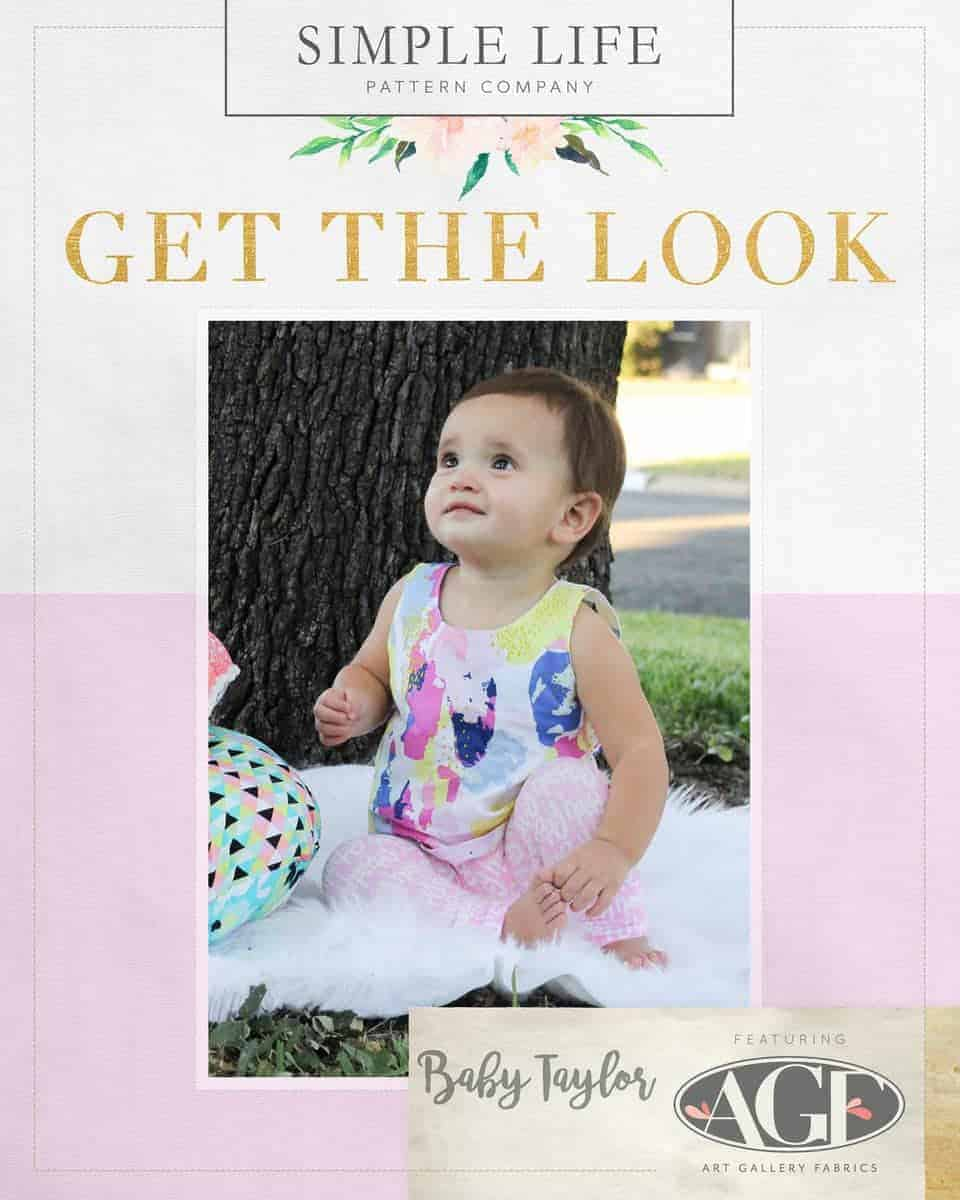 GET THE LOOK - Baby Taylors Shift Top & Dress. Here come the fun