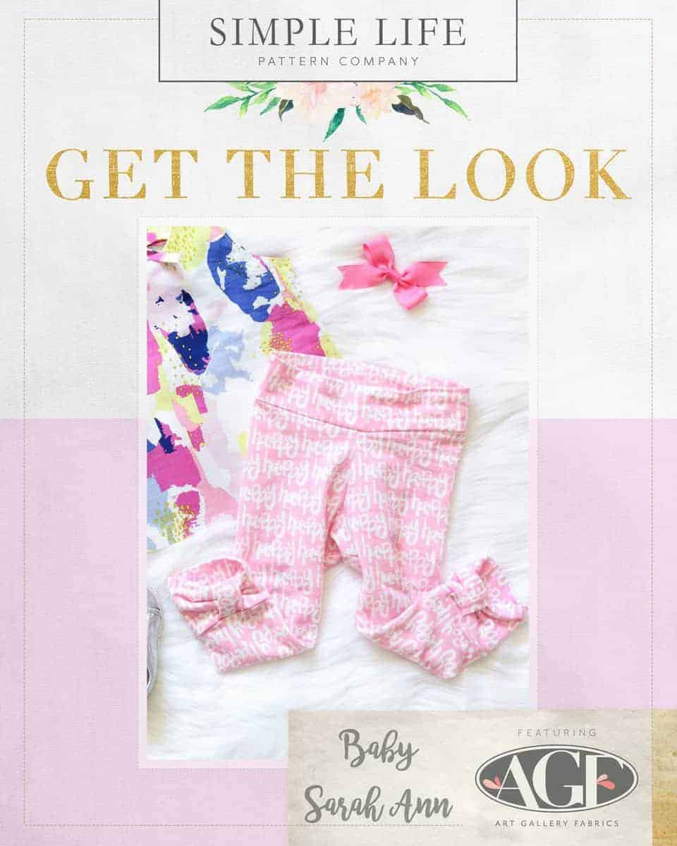GET THE LOOK - Baby Sarah Ann's Leggings. Here come the fun pink