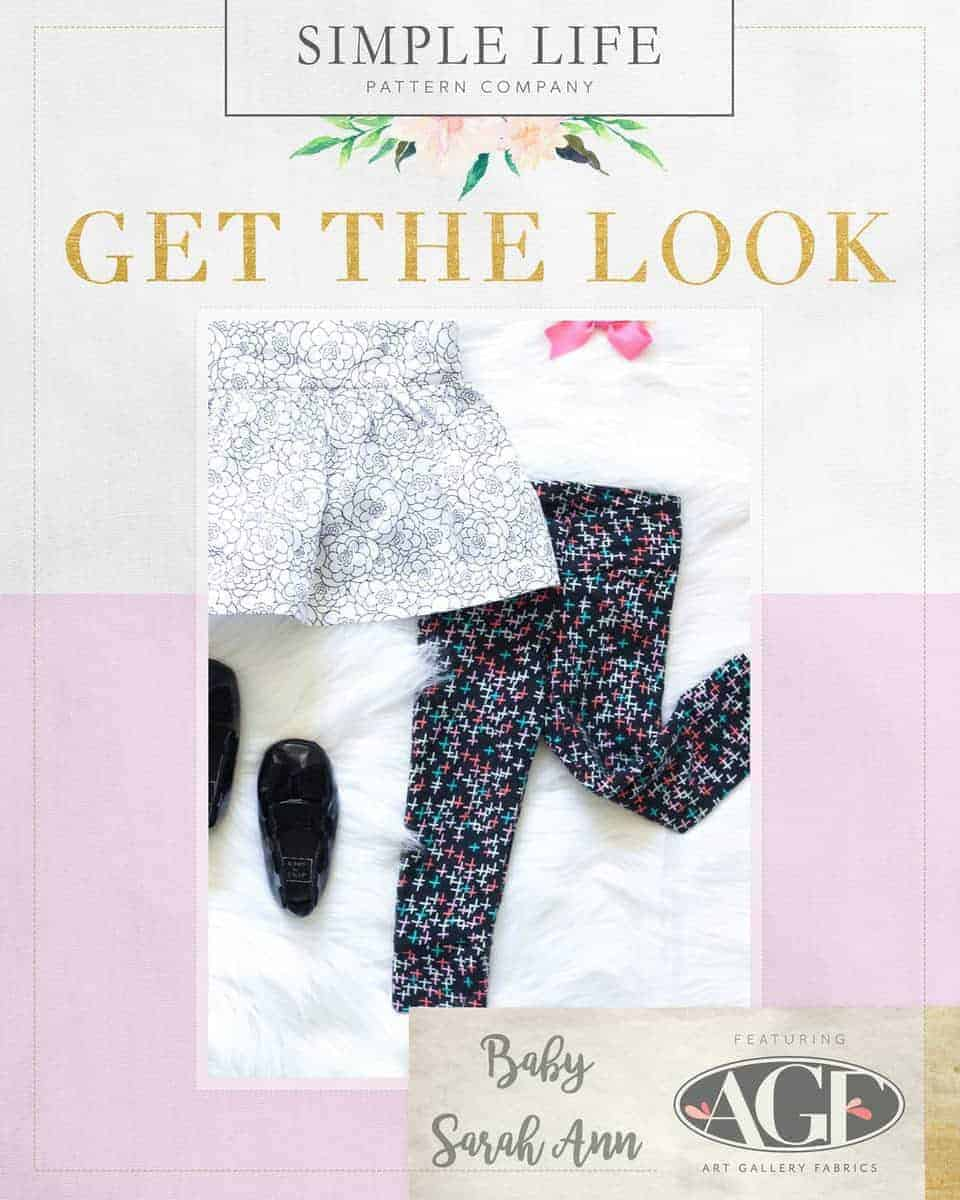 GET THE LOOK - Baby Sarah Ann's Leggings. Here come the fun crosses