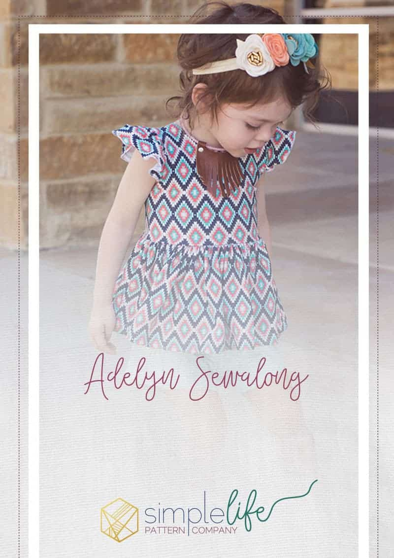 Adelyn Sewalong | the Simple Life Pattern Company
