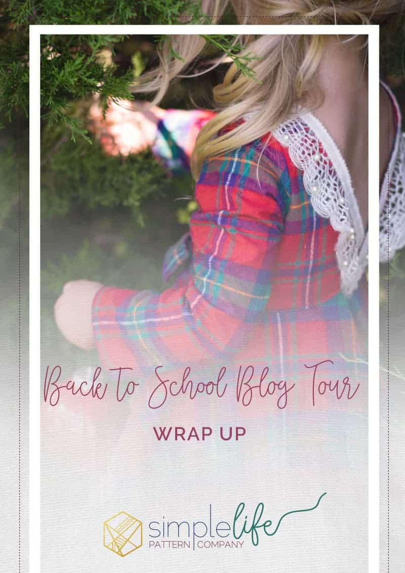 Back to School Blog Tour The Simple Life Pattern Company