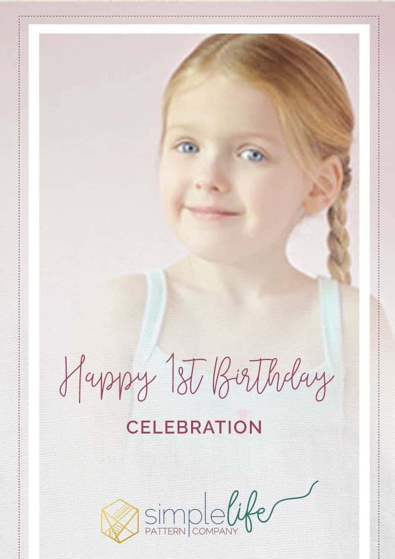 Happy Birthday | The Simple Life Pattern Company