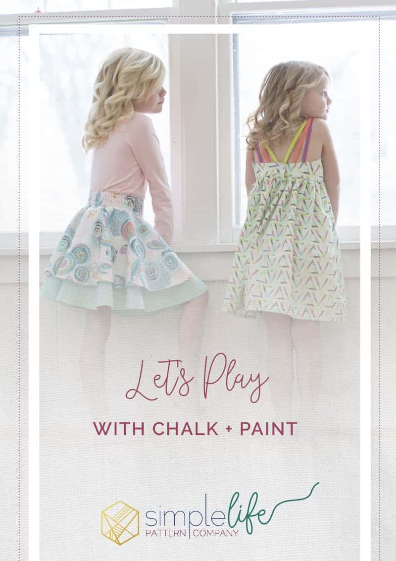 Let's Play Chalk Paint | The Simple Life Pattern Company