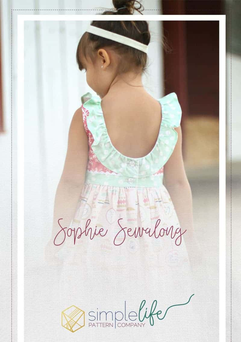 Sophie Sewalong The Simple Life Pattern Company