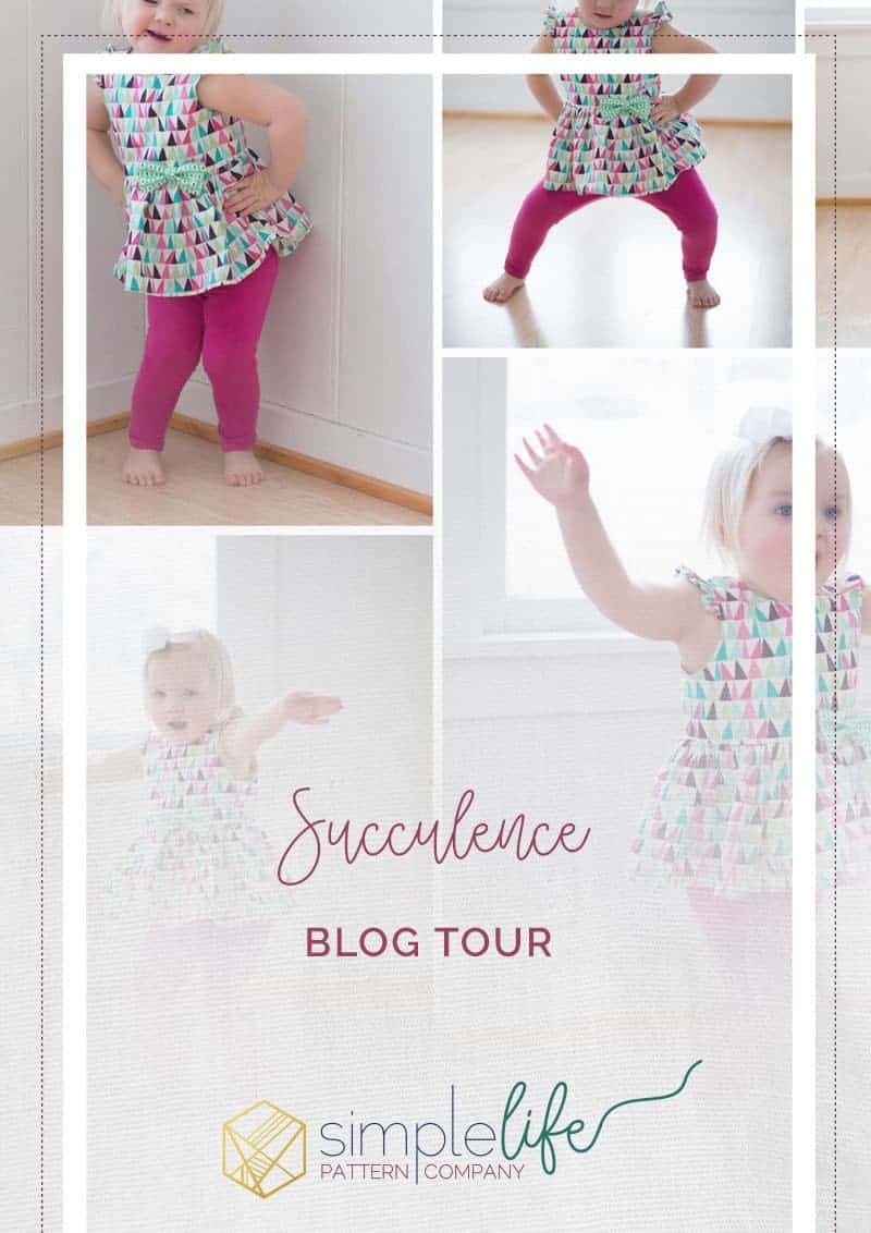 Succulence Blog Tour | The Simple Life Pattern Company