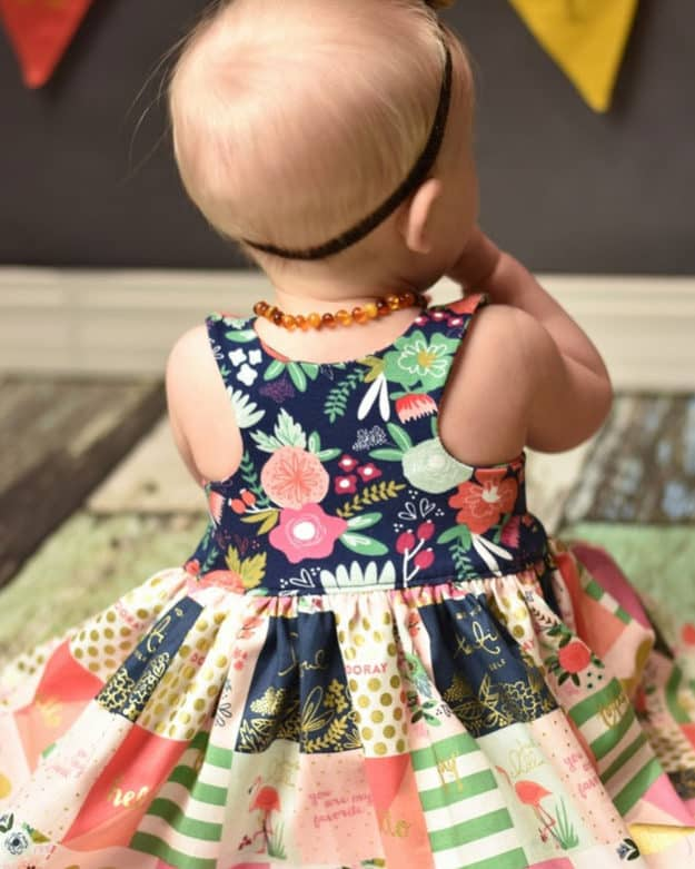 Knit Baby Lucy Bodice Add On | Racerback | The Simple Life Pattern Company
