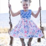 Jaimesyn's Double Flutter Pocket Top + Dress | The Simple Life Pattern Company