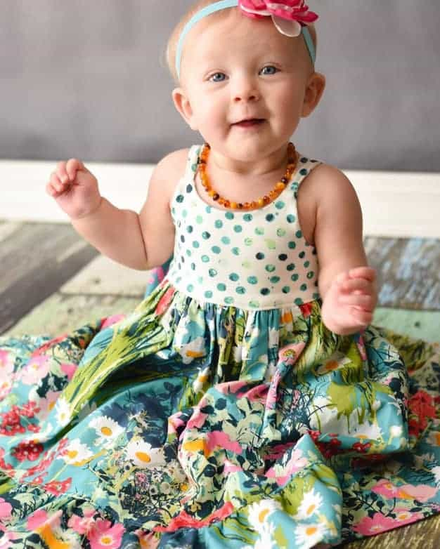 Knit Baby Bella Bodice Add On The Simple Life Pattern Company