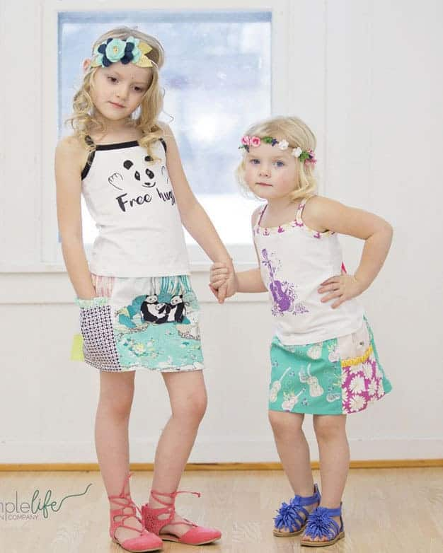 Free Gracie's Pocket Skirt   The Simple Life Pattern Company