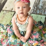 xKnit Baby Bella Bodice Add-on | The Simple Life Pattern Company