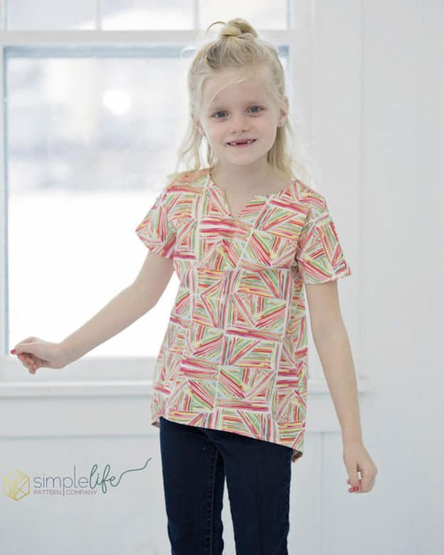 Tessa's Everyday Dolman Top + Tunic | The Simple Life Pattern Company