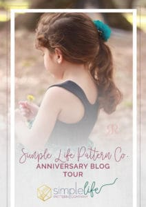 The Simple Life Pattern Company Anniversary Blog Tour