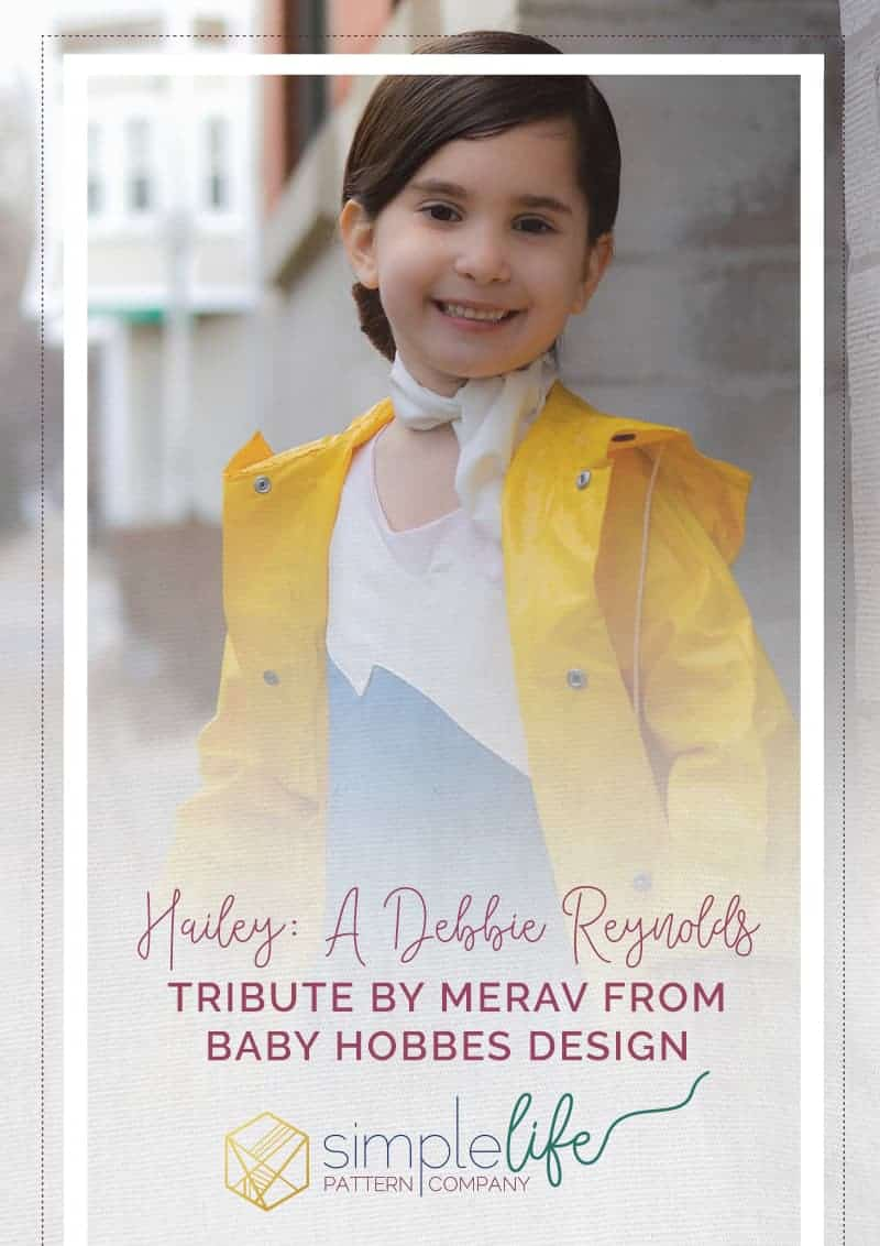 Hailey: A Debbie Reynolds Tribute by Merav from Baby Hobbes Design | The Simple Life Pattern Company