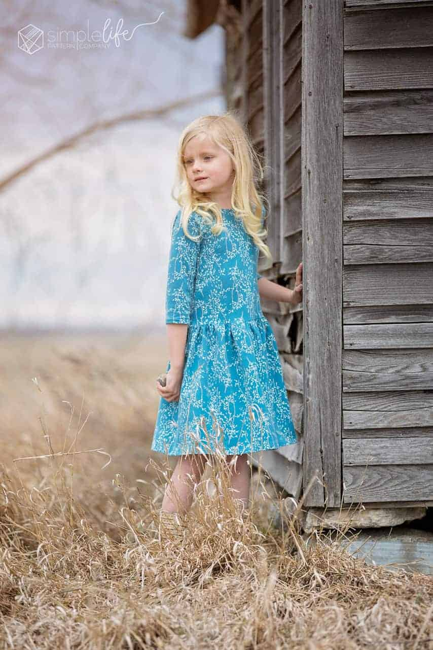 Bountiful Fabrics blog tour Sharon Holland for Art Gallery Fabrics featuring Molly and Isla girls dresses