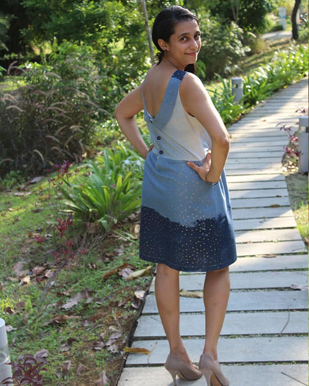 Simple life pattern company in collaboration with Sew caroline women pdf sewing patterns Molly's scoop back peplum top and dress and maxi beach spring summer fall dress open back tank easy modern sewing patterns ladies mommy momma and me girls beginner easy fast
