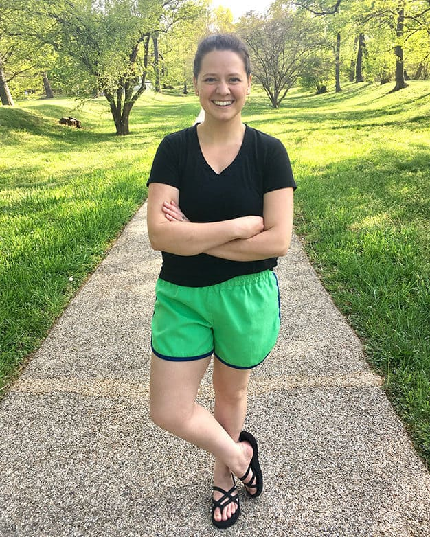 Simple life pattern company in collaboration with Sew caroline women pdf sewing patterns Tammy's tulip shorts cochlea sports athletic relax comfy pom pom shorts easy modern sewing patterns ladies mommy momma and me girls beginner easy fast
