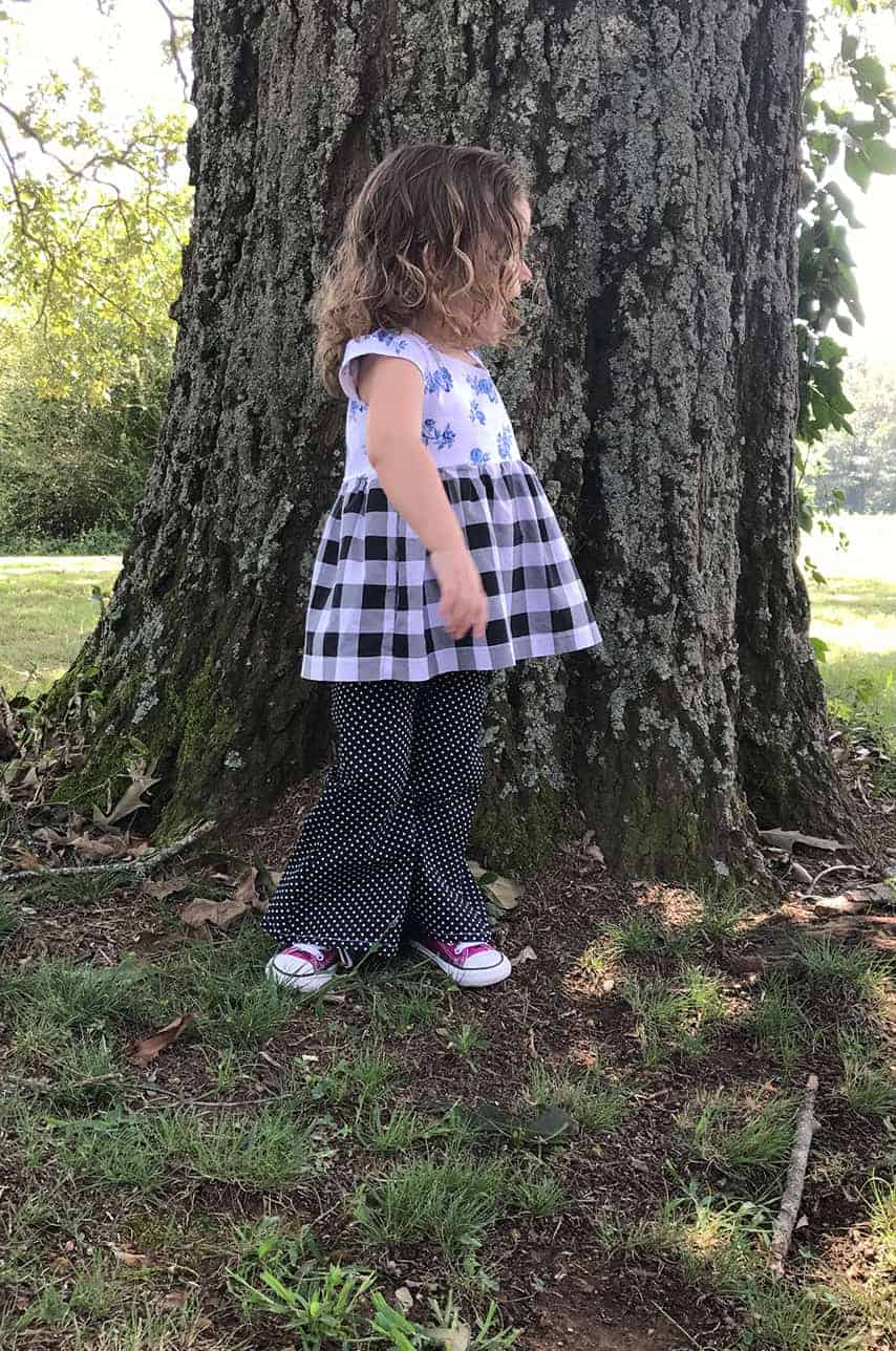 Ava's Pleated Dress | Simple Life Pattern Company pdf sewing pattern girls 2t-12 slpco pleats sweetheart neckline spring, summer, fall, winter, sleeveless, long sleeve, button keyhole, deep hem, embroidery, bodice insert, top, dress