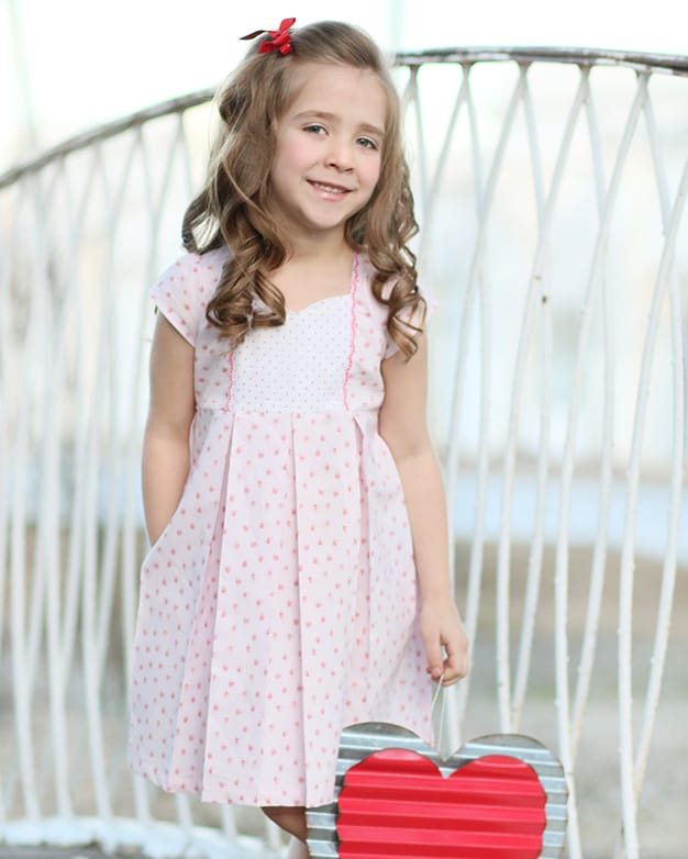 Ava\'s Pleated Top & Dress| The Simple Life Pattern Company