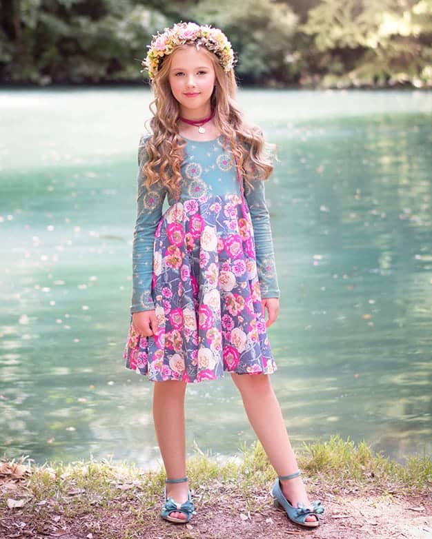 Adelyn\'s Scoop Back Top & Dress | The Simple Life Pattern Company