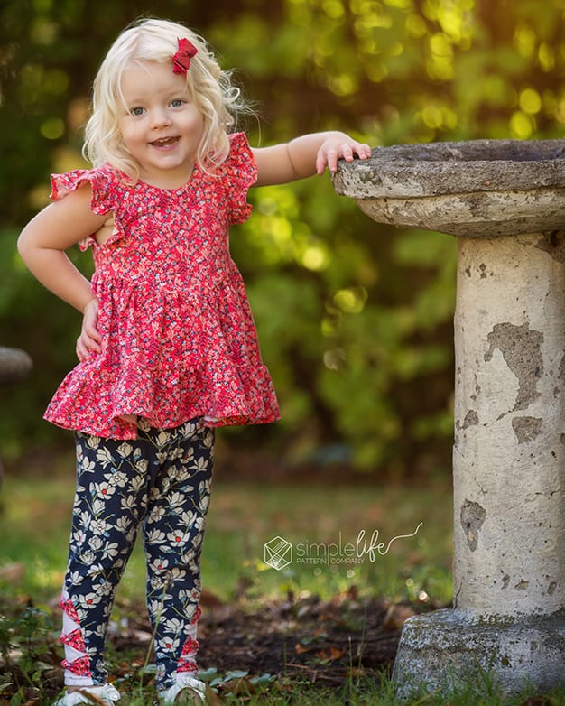 Willow S V Shaped Bodice Top And Dress The Simple Life