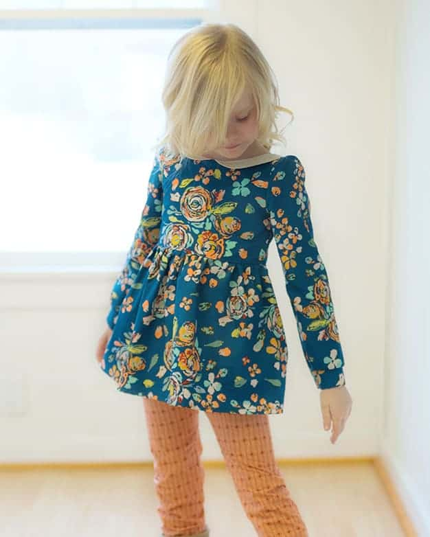 Sleeve Add On girls sizes 2t-12 | The Simple Life Pattern Company