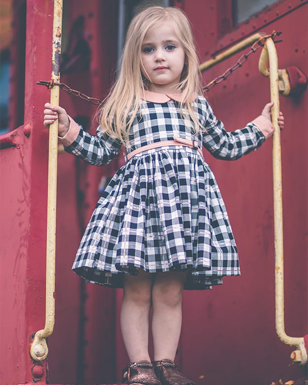 Wendy S Classic Collar Dress Pdf Downloadable Sewing