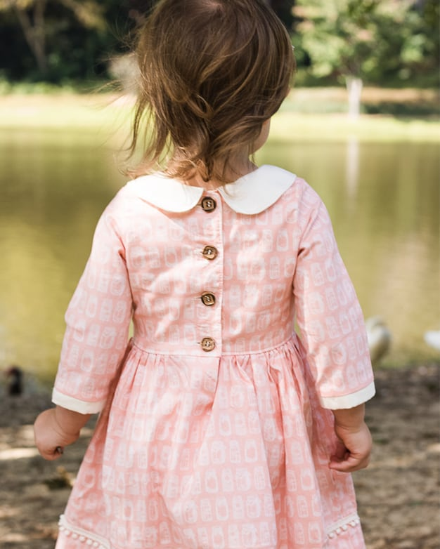 Wendys Classic Collar Dress Pdf Downloadable Sewing Pattern