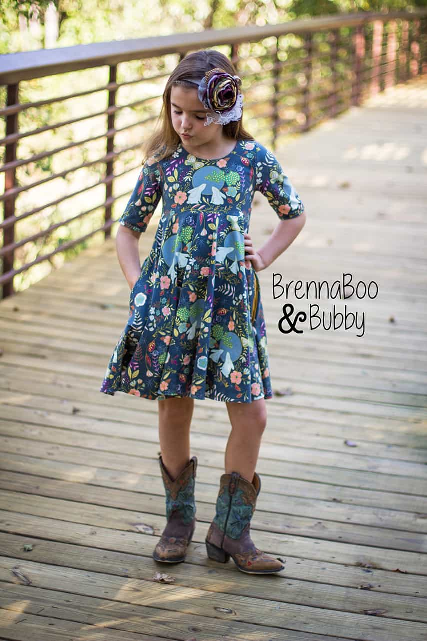 Isla\'s Infinity Dress PDF sewing pattern girls and babies Simple ...