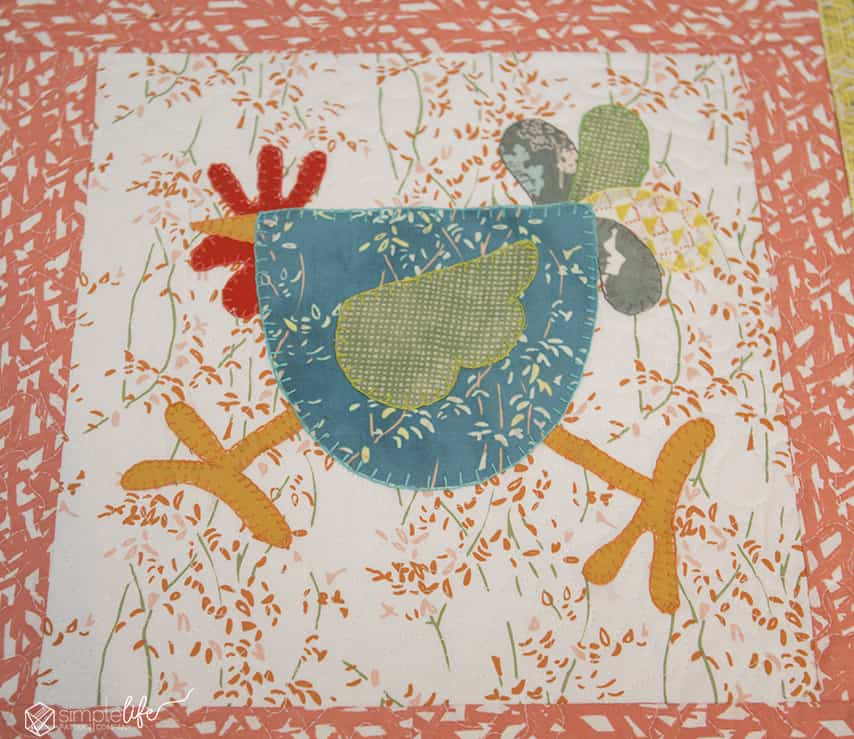 Crazy Chicken Table Runner Bountiful Blog Tour 2 The Simple Life