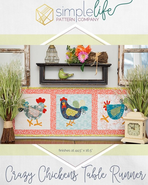 Free Crazy En Table Runner Or Wall Hanging Pdf Able Sewing Quilt Pattern