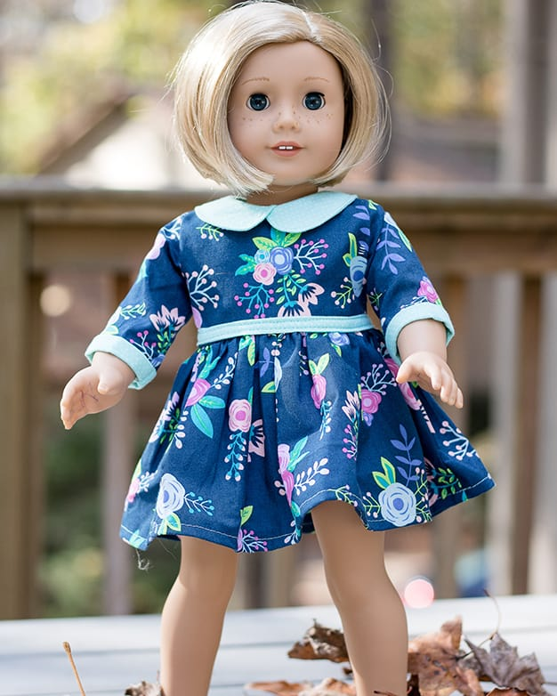 Dolly Wendy. PDF downloadable sewing pattern for dolls American Girl ...