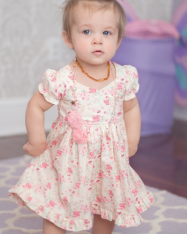 baby pearl s zipper dress downloadable pdf pattern for baby sizes