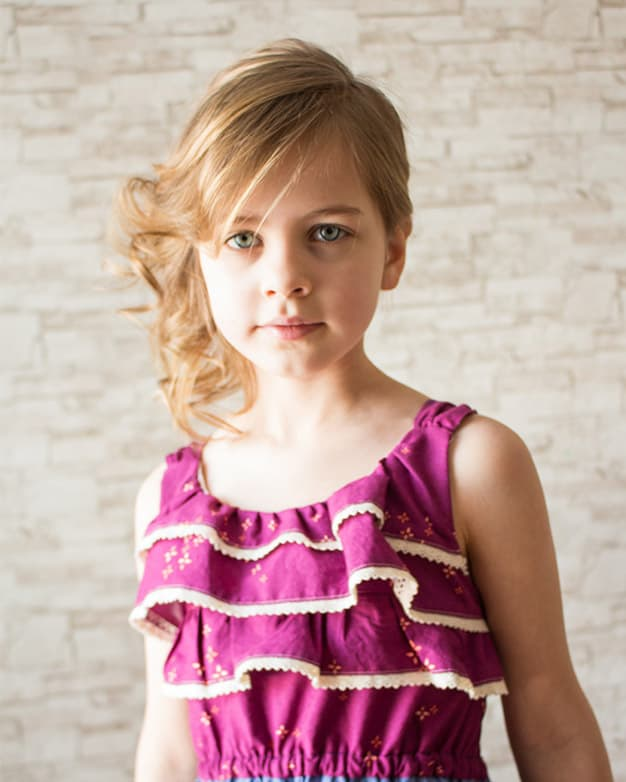 Piper S Flounce Top Dress And Maxi Downloadable Pdf