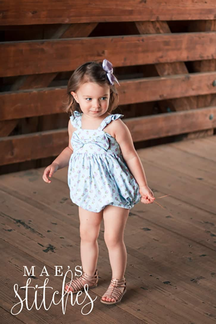 Romper Add on Pattern. PDF sewing pattern for baby/girls sizes NB-3t. Romper Month Cora Belly Lexi Sandy Sailor Molly Aria Laguna Summer Toddler beach trendy