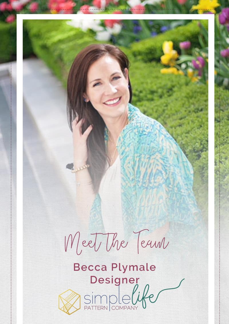 Simple Life Company | Meet the Team Becca Plymale Designer SLPco Social Media Team Design Company