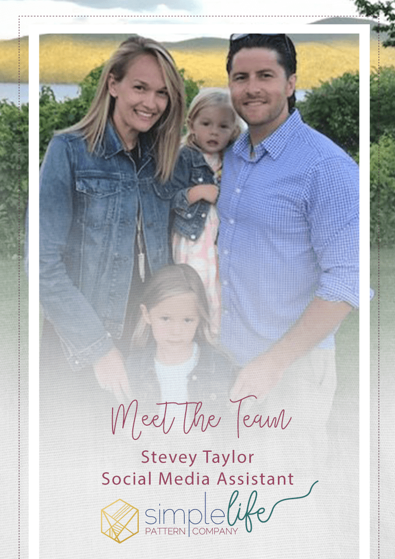 Simple Life Company | Meet the Team Stevey Taylor SLPco Social Media Team Staff Company