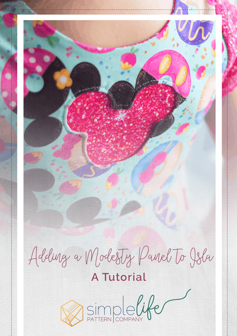 Adding a Modesty Panel to Isla - A Tutorial | Simple Life Pattern Company