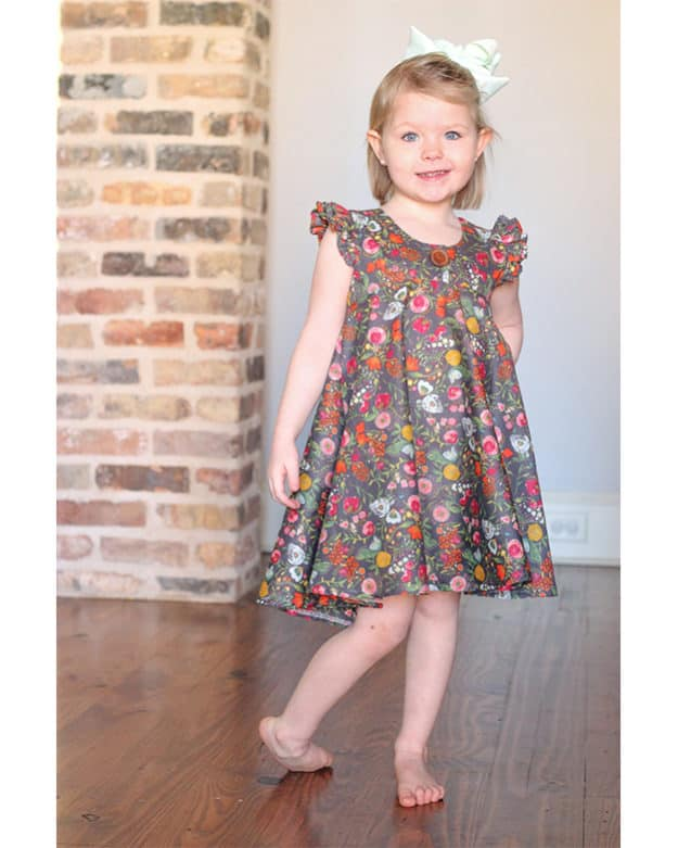 f2d315de0dfba Girls' Dresses | The Simple Life Pattern Company