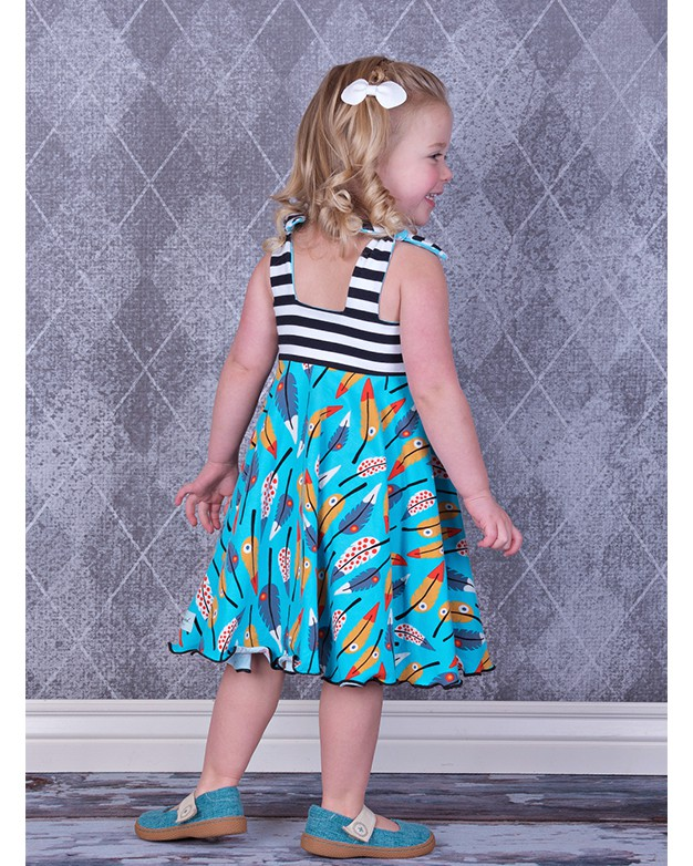 Lana S Tie Strap Swing Top Amp Dress Downloadable Pdf
