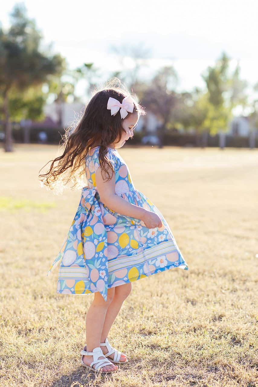 The Simple Life Pattern Company | March Pattern of the Month: Mila's Tulip Sleeve Top and Dress