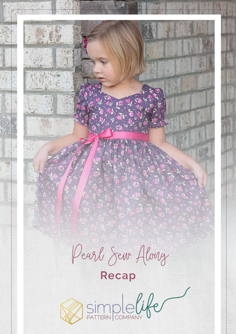 Pearl's Zipper Top and Dress Sew Along Recap