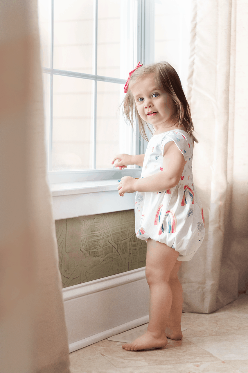The Simple Life Pattern Company | Using the Romper Add On with a Zipper Pattern
