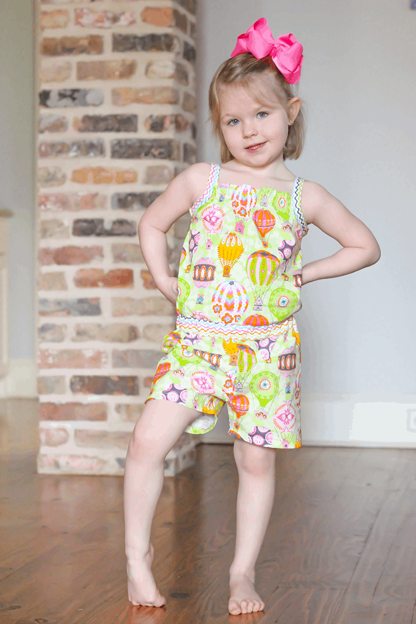 The Simple Life Pattern Company   It's Romper Month: March 2019