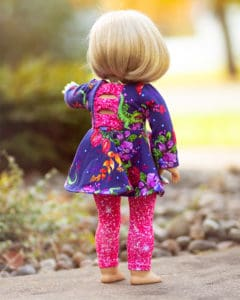 Dolly Aria Simple Life Pattern Company PDF Downloadable Sewing Pattern