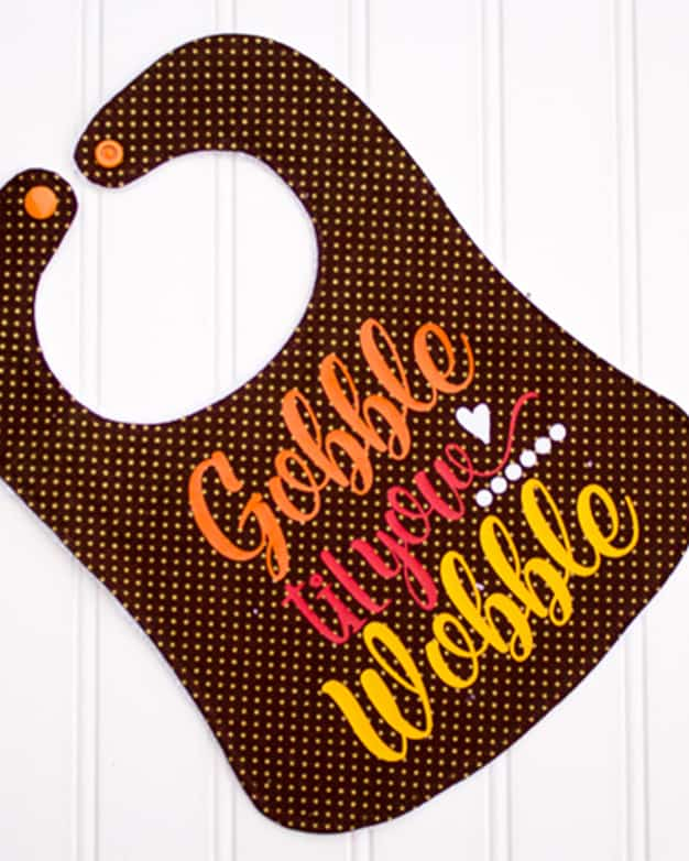 Gobble Til You Wobble Cut File For Cutting Machines Svg Png Eps Dxf Files Included The Simple Life