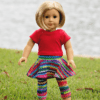 Dolly Roxie Simple Life Pattern Company PDF Downloadable Sewing Pattern