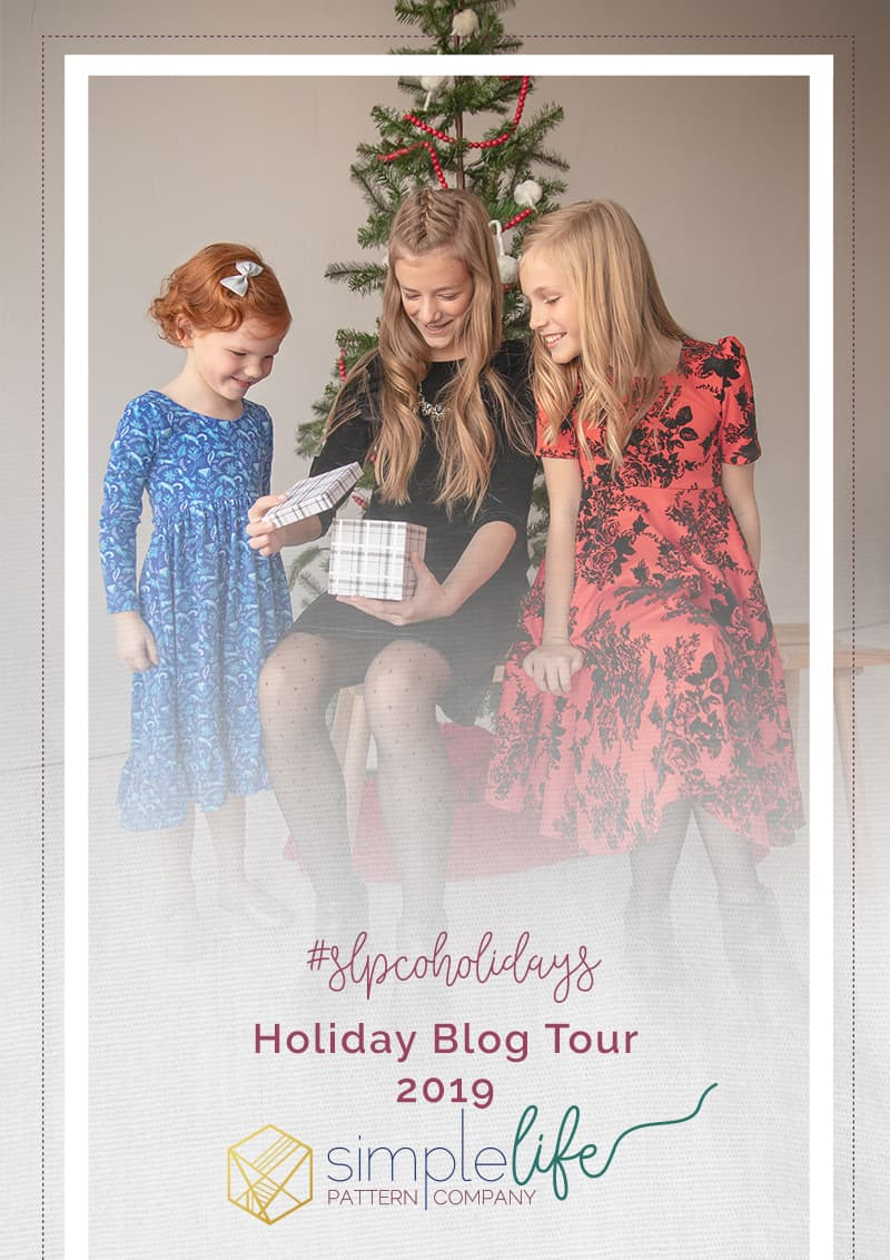 #slpcoholidays simple life pattern company holiday blog tour 2019