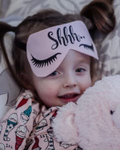 Simple Life Pattern Company | Luna's Sleep Mask. Downloadable PDF Sewing Pattern for Doll, Child and Adult.